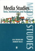 Media Studies 1st Edition 9780631200277 0631200274