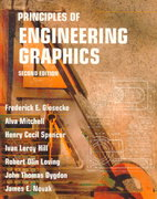 Principles of Engineering Graphics 2nd edition 9780023428203 0023428201