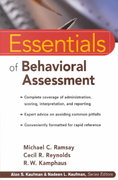 Essentials of Behavioral Assessment 1st edition 9780471353676 0471353671