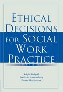 Ethical Decisions for Social Work Practice 8th edition 9780495506331 0495506338