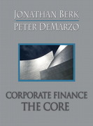 Corporate Finance 1st edition 9780321557599 032155759X
