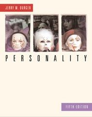 Personality 5th edition 9780534362355 0534362354