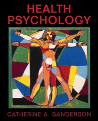 Health  Psychology 1st Edition 9780471150749 0471150746
