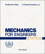 Mechanics for Engineers: Statics 5th edition 9780072464788 007246478X