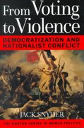 From Voting to Violence 1st Edition 9780393974812 0393974812