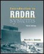 Introduction to Radar Systems 3rd Edition 9780072881387 0072881380