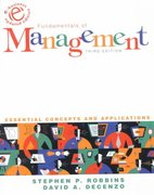 Fundamentals of Management 3rd edition 9780130651334 0130651338