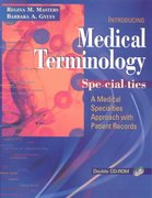 Medical Terminology Specialties 1st Edition 9780803609075 0803609078
