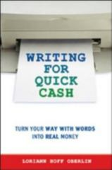 Writing for Quick Cash 0 9780814471999 0814471994