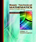 Basic Technical Mathematics with Calculus 8th edition 9780321306890 0321306899