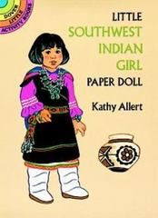 Little Southwest Indian Girl Paper Doll 80th edition 9780486279275 0486279278
