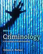 Criminology 4th Edition 9780132350068 0132350068