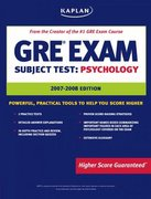 Kaplan GRE Exam Subject Test: Psychology 3rd edition 9781419551420 1419551426