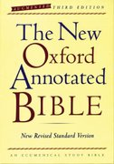 The New Oxford Annotated Bible, Augmented Third Edition, New Revised Standard Version 3rd edition 9780195288759 0195288750