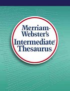 Merriam-Webster's Intermediate Thesaurus 1st edition 9780877790761 0877790760