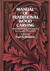 Manual of Traditional Wood Carving 0 9780486234892 0486234894