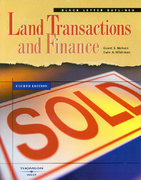 Black Letter Outline on Land Transactions and Finance 4th edition 9780314150431 0314150439