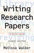 Writing Research Papers 4th edition 9780393971088 0393971082