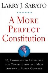 A More Perfect Constitution 1st Edition 9780802716217 0802716210