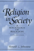 Religion in Society 5th edition 9780131254367 0131254367