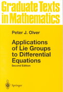 Applications of Lie Groups to Differential Equations 2nd edition 9780387950006 0387950001