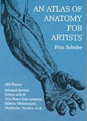 An Atlas of Anatomy for Artists 3rd Edition 9780486202419 0486202410
