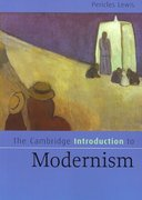 The Cambridge Introduction to Modernism 1st Edition 9780521535274 0521535271