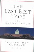 The Last Best Hope 1st edition 9780787956813 0787956813