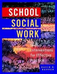School Social Work 1st Edition 9780471395713 0471395714