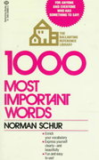1000 Most Important Words 1st Edition 9780345298638 0345298632