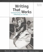 Writing That Works 7th edition 9780312256296 0312256299