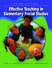 Effective Teaching in Elementary Social Studies 5th edition 9780130497017 0130497010