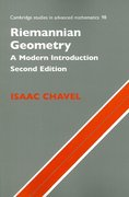 Riemannian Geometry 2nd edition 9780521853682 0521853680