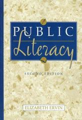Public Literacy 2nd edition 9780321129987 0321129989