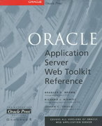 Oracle Application Server Web Toolkit Reference 0 9780078824333 0078824338