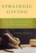 Strategic Giving 1st Edition 9780226266268 0226266265