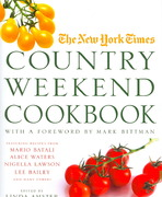 The New York Times Country Weekend Cookbook 1st edition 9780312359393 031235939X