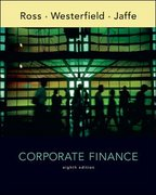 Corporate Finance 8th edition 9780073105901 0073105902