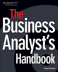 The Business Analysts's Handbook 1st Edition 9781598637151 1598637150