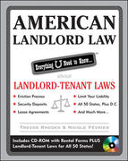 American Landlord Law: Everything U Need to Know About Landlord-Tenant Laws 1st edition 9780071590624 0071590625