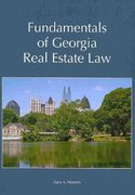 Fundamentals of Georgia Real Estate Law 1st Edition 9781594606885 1594606889