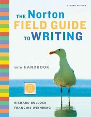 The Norton Field Guide to Writing with Handbook 2nd edition 9780393934397 039393439X