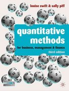 Quantitative Methods 3rd edition 9780230218246 0230218245