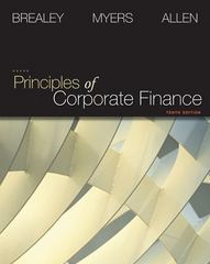 Principles of Corporate Finance + S&P Market Insight 10th edition 9780077356385 0077356381