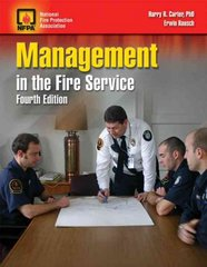 Management in the Fire Service 4th Edition 9780763751692 0763751693