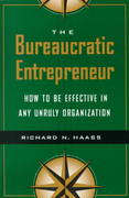 The Bureaucratic Entrepreneur 0 9780815733539 0815733534