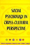 Social Psychology in Cross-Cultural Perspective 0 9780716723554 0716723557
