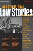 Constitutional Law Stories, 2d 2nd edition 9781599411699 1599411695