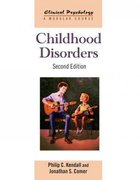 Childhood Disorders 2nd Edition 9780415486422 0415486424