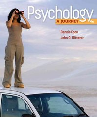 Psychology 4th edition 9780495811701 049581170X